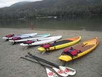 Highlight for Album: Intro to Paddleboarding - Del Valle
