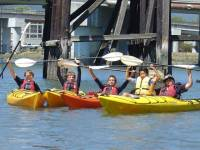 Highlight for Album: Kids Kayaking Camp - Larkspur