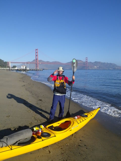 Michael on Bay Water Trail