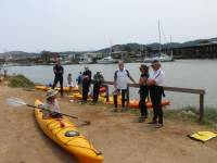 Highlight for Album: Kayaking Skills and Safety - Larkspur