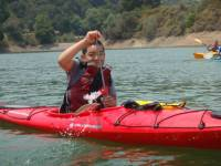 Highlight for Album: Kids Kayaking Camp - Stevens Creek Reservoir