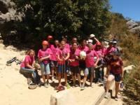 Highlight for Album: Kids Rock Climbing Camp
