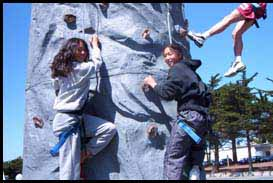 Bay Area Rock Climbing Wall